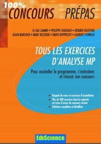 Tous les exercices d'analyse