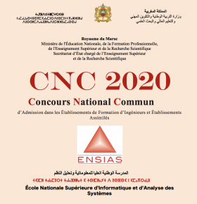 CPGE Maroc Concours national commun CNC 2020
