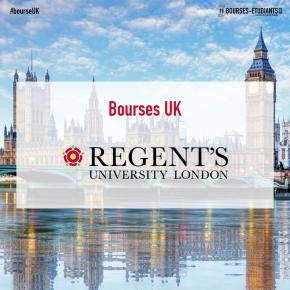 Bourses d'études UK 2020 : Undergraduate International Program at Regent's University London
