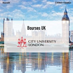 Bourses d'études UK 2020 :  Different Master Programs at City, University of London