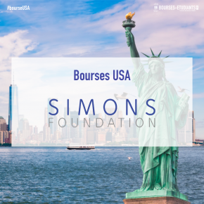 Bourses de Recherche USA 2020 : Mathematic & Science Research Program by The Simons Foundation