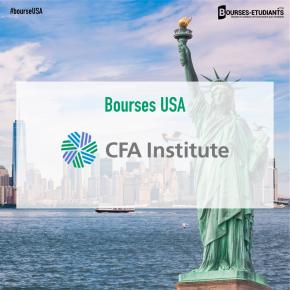 Bourses d'études USA 2020 : Scholarships for International Students by The CFA Institute