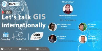 """Let's talk GIS internationally "" - Hassania GEO IT"