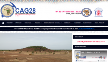 Cag28: 28th colloquium of african geology
